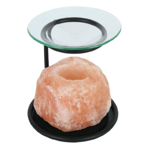 Oil Burner Tealight Holder Himalayan Salt Lamp - Assorted Sizes